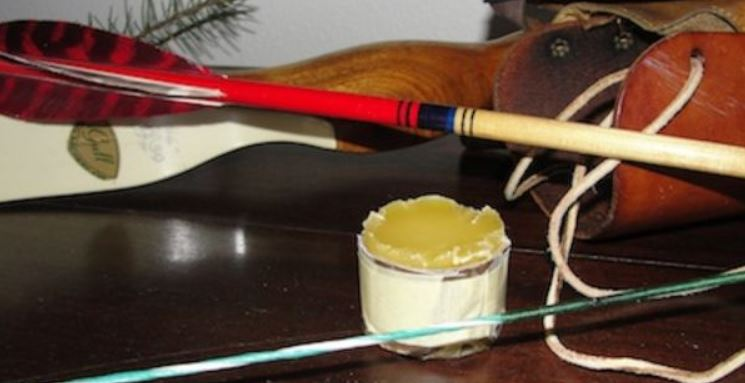 Can I use beeswax as a bow wax