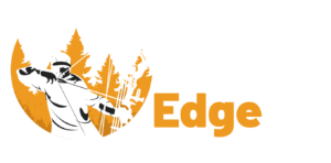 Archery Edge logo in white