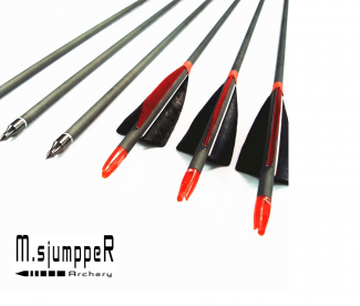 MS Jumper Archery Carbon Arrows