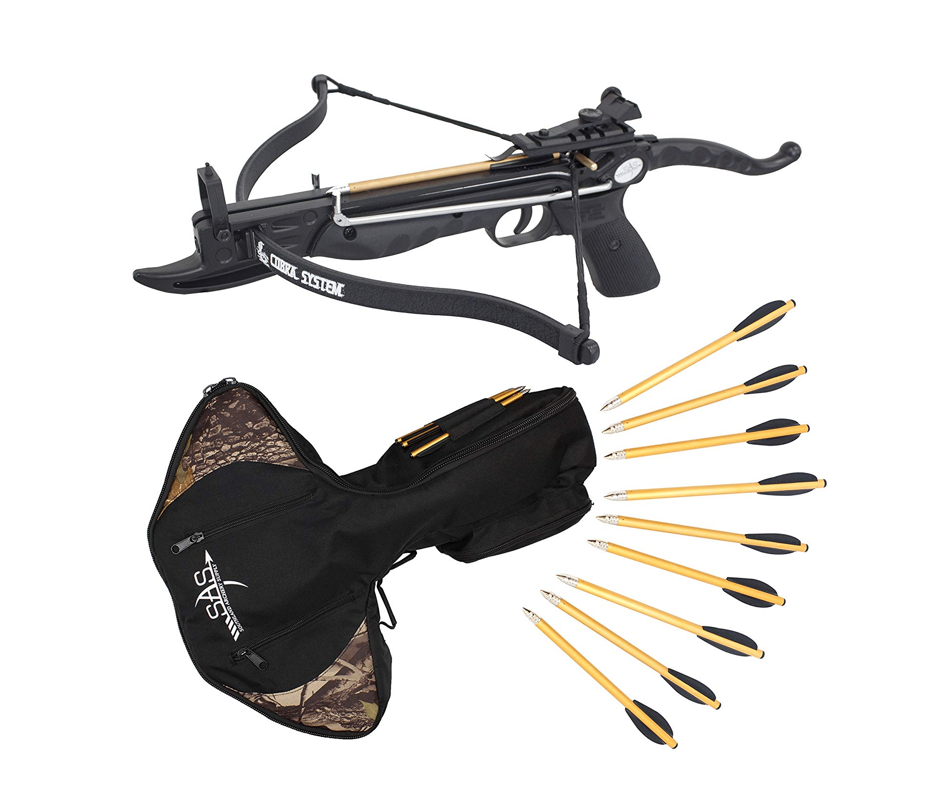 Prophecy 80-Pound Self Cocking Pistol Crossbow with Cobra Limb System