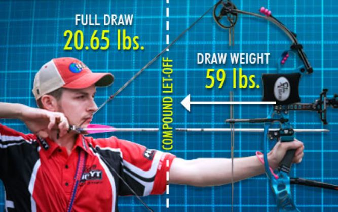 What is the highest draw weight of a bow