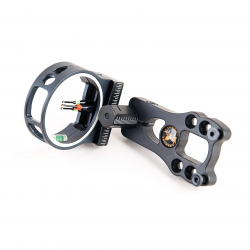 TOPOINT-ARCHERY-3-Pin-Bow-Sight---Fiber,-Brass-Pin,-Aluminum-Machined---Right-and-Left-Handed-2