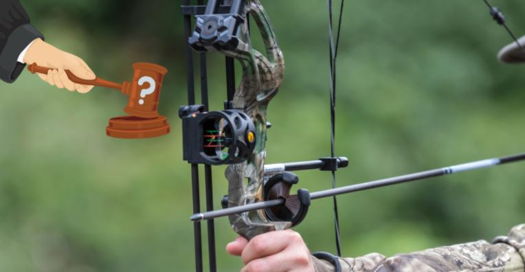 is it legal to use a crossbow in the U.S.